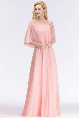 Schönes Abendkleid Lang Rosa | Abiballkleider Online_2