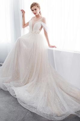 Umstands Hochzeitskleid Schlicht | Brautkleider A Linie_10