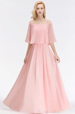 Schönes Abendkleid Lang Rosa   Abiballkleider Online_7