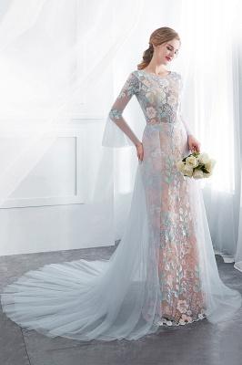 Günstige Abendkleider Lang Mit Spitze | Festliche Mode_5