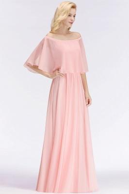 Schönes Abendkleid Lang Rosa | Abiballkleider Online_5