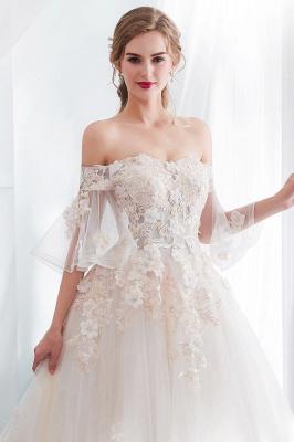 Hochzeitskleider Prinzessin Luxus   Brautkleider mit Ärmel_7
