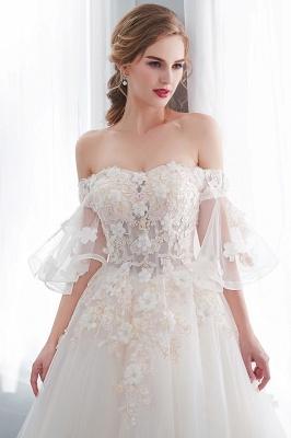 Hochzeitskleider Prinzessin Luxus   Brautkleider mit Ärmel_8