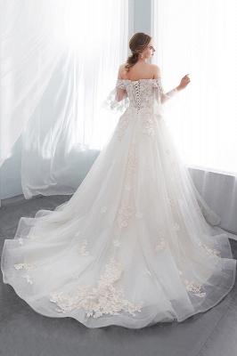 Hochzeitskleider Prinzessin Luxus   Brautkleider mit Ärmel_6