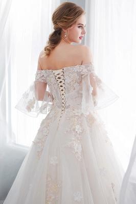 Hochzeitskleider Prinzessin Luxus   Brautkleider mit Ärmel_10