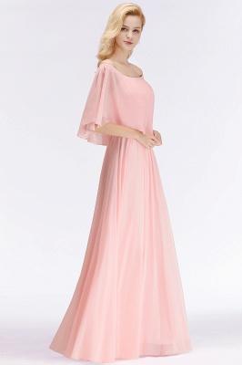 Schönes Abendkleid Lang Rosa   Abiballkleider Online_3