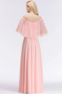 Schönes Abendkleid Lang Rosa | Abiballkleider Online_4