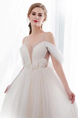 Umstands Hochzeitskleid Schlicht | Brautkleider A Linie_6