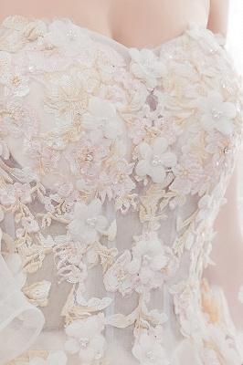 Hochzeitskleider Prinzessin Luxus   Brautkleider mit Ärmel_11