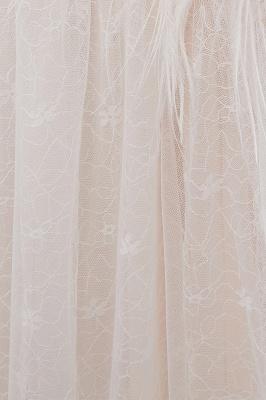 Umstands Hochzeitskleid Schlicht | Brautkleider A Linie_12