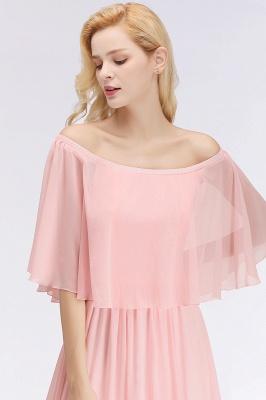 Schönes Abendkleid Lang Rosa   Abiballkleider Online_6