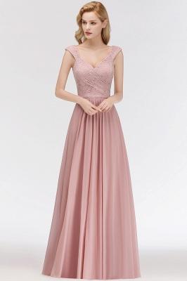 Rosa Abendkleider Mit Spitze | Abiballkleider Alterrosa_1