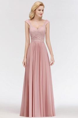 Rosa Abendkleider Mit Spitze | Abiballkleider Alterrosa_4