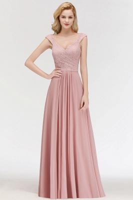 Rosa Abendkleider Mit Spitze | Abiballkleider Alterrosa_5