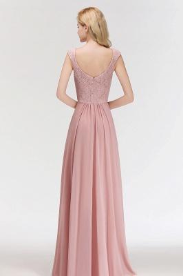 Rosa Abendkleider Mit Spitze | Abiballkleider Alterrosa_2