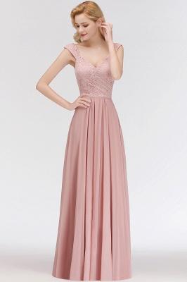Rosa Abendkleider Mit Spitze | Abiballkleider Alterrosa_6