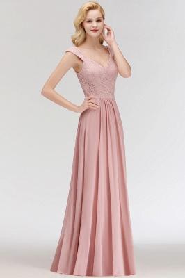 Rosa Abendkleider Mit Spitze | Abiballkleider Alterrosa_7