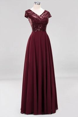 Brautjungfernkleider Lang Günstig | Hochzeitspartykleider Abendkleid Glitzer_11