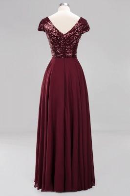 Brautjungfernkleider Lang Günstig | Hochzeitspartykleider Abendkleid Glitzer_10