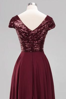 Brautjungfernkleider Lang Günstig | Hochzeitspartykleider Abendkleid Glitzer_14