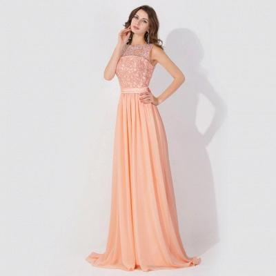 Elegante Abendkleider Günstig | Abiballkleider mit Spitze_6