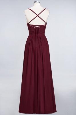Schlichtes Abendkleid | Brautjungfernkleider Lang Günstig_44