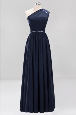 Designer Brautjungfernkleider Lang Weinrot   Chiffon Kleider Abendkleider_27