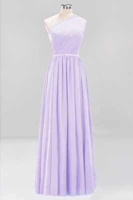 Designer Brautjungfernkleider Lang Weinrot   Chiffon Kleider Abendkleider_20
