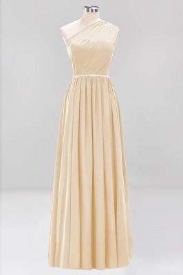 Designer Brautjungfernkleider Lang Weinrot   Chiffon Kleider Abendkleider_14