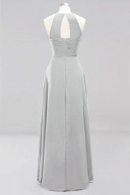 Brautjungfernkleider Lang Günstig   Weinrot Abendkleider Online_29