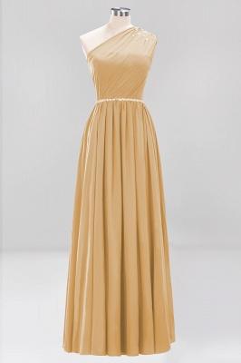 Designer Brautjungfernkleider Lang Weinrot   Chiffon Kleider Abendkleider_13