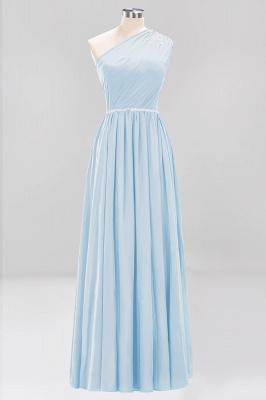 Designer Brautjungfernkleider Lang Weinrot   Chiffon Kleider Abendkleider_22