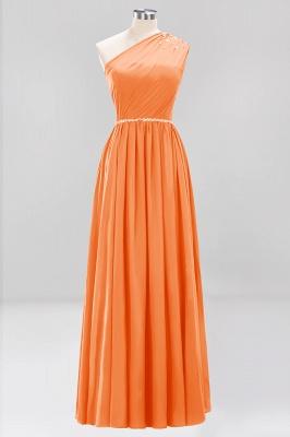 Designer Brautjungfernkleider Lang Weinrot   Chiffon Kleider Abendkleider_15