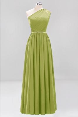 Designer Brautjungfernkleider Lang Weinrot   Chiffon Kleider Abendkleider_32