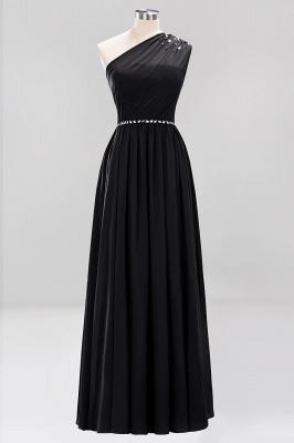 Designer Brautjungfernkleider Lang Weinrot   Chiffon Kleider Abendkleider_28