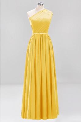 Designer Brautjungfernkleider Lang Weinrot   Chiffon Kleider Abendkleider_16