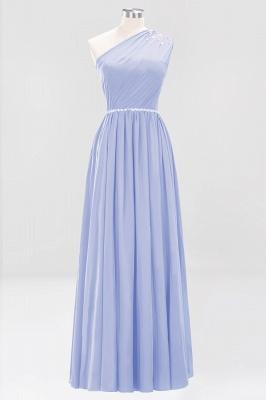Designer Brautjungfernkleider Lang Weinrot   Chiffon Kleider Abendkleider_21