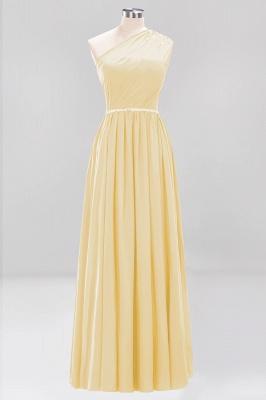 Designer Brautjungfernkleider Lang Weinrot   Chiffon Kleider Abendkleider_17