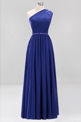 Designer Brautjungfernkleider Lang Weinrot   Chiffon Kleider Abendkleider_25