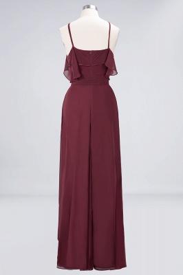 Weinrote Abendkleider Lang Günstig | Brautjungfernkleider Online Kaufen_9