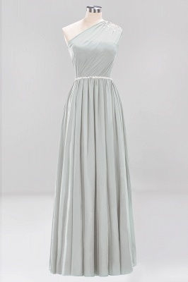 Designer Brautjungfernkleider Lang Weinrot   Chiffon Kleider Abendkleider_29