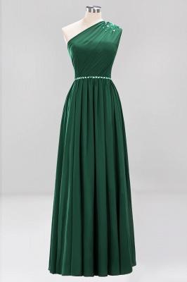 Designer Brautjungfernkleider Lang Weinrot   Chiffon Kleider Abendkleider_30