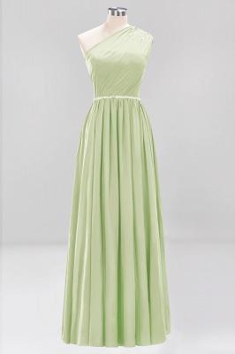 Designer Brautjungfernkleider Lang Weinrot   Chiffon Kleider Abendkleider_33