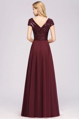 Brautjungfernkleider Lang Günstig | Hochzeitspartykleider Abendkleid Glitzer_2