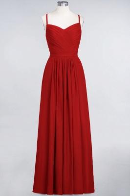 Schlichtes Abendkleid | Brautjungfernkleider Lang Günstig_8