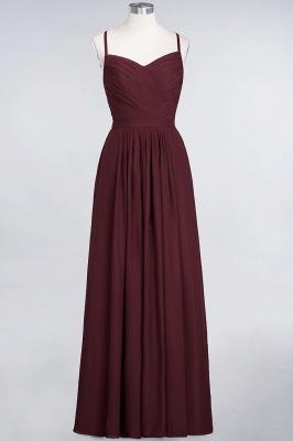Schlichtes Abendkleid | Brautjungfernkleider Lang Günstig_10