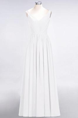 Schöne Abendkleider Weinrot | Brautjungfernkleider Lang Günstig_1
