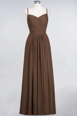 Schlichtes Abendkleid | Brautjungfernkleider Lang Günstig_12