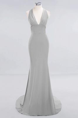 Brautjungfernkleider Lang Grün | Hochzeitspartykleider Günstig Online_26