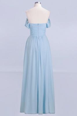 Abendkleider Lang Blau | Brautjungfernkleider Chiffon Günstig_4